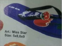 Ladies Rubber Chappal