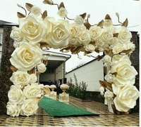 Rubber Art Flowers For Wedding Decoration