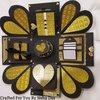 Handmade Personalised Golden And Black Box