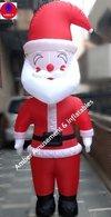 8 Ft Inflatable Walking Santa