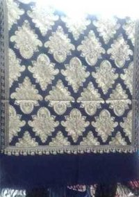 Wool Shawl With Embroidery Work