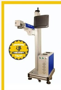 Flying Type Laser Marking Machine For Production Line