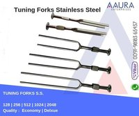 Tuning Fork Stainless Steel 128, 256, 512, 1024, 2048