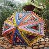 Indian Cotton Vintage Handmade Banjara Fabric Sun Protected Umbrella