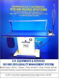 Fully Automatic Steam Ironing Machine