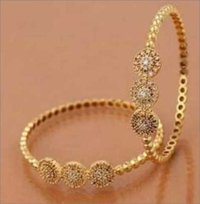 Ladies Artificial Gold Bangle