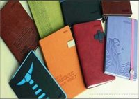 Plain Leather Cover Promotional Diaries