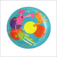 Colored Disposable Paper Plates