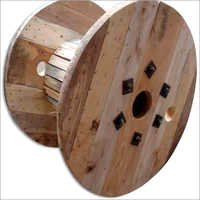 Large Wooden Cable Drums