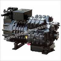 Industrial Semi Sealed Compressor
