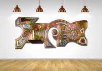 Customized Metal Murals