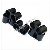 LLDPE Drip Pipe End Plug 12mm