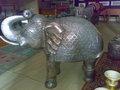 ELEPHANT WITH WOODEN BASE