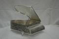 SILVER PLATED JEWELRY BOX