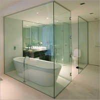 Toughened Glass Bathroom Enclosure