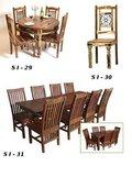 Wooden Handicrafts Dining Sets