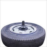 Lcv Wheel Balancer Adapter With Tyre