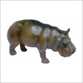 Hippo Leather Toy