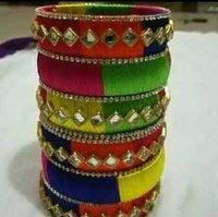 Handmade Designer Silk Thread Bangles