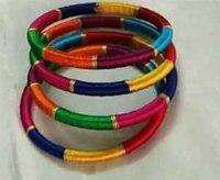 Handmade Silk Thread Bangle