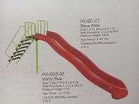 Frp Wave Slide For Playground