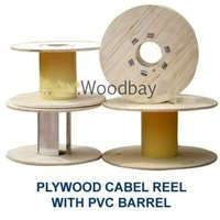 Plywood Cable Drum With Pvc Barrel