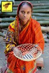 Handmade Bamboo Gift Basket