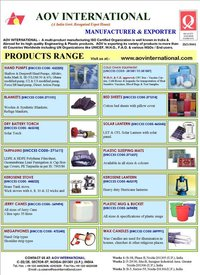 Emergency Relief Items For Humanitarian Aid & Relief Items