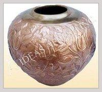 Handcrafted Antique Finish Brass Flower Vases