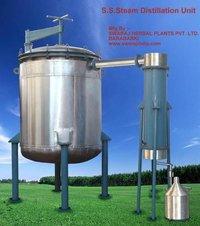Steam Distillation Unit