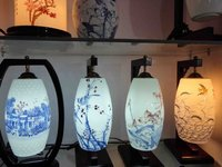 Porcelain Light Or Lamp/Chinaware Light Or Lamp/Ceramic Ware Made In Jingdezheng Of China