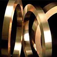Copper Metal Circles