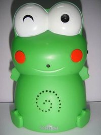 Digital Voice Recorder And Motion Activated Speaker (Frog)