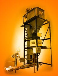 Fully Automatic Sugar Weighing And Bagging Machine.
