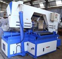 Pivot Type Horizontal Metal Cutting Bandsaw Machine