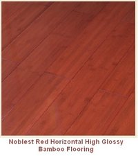 Noblest Red Solid Bamboo Flooring