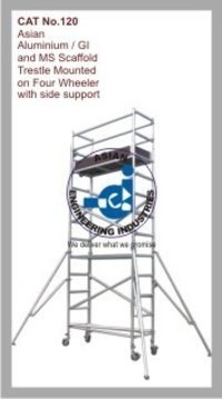 Asian Aluminium / GI and MS Scaffold Trestle with Side Support