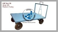 Platform Trolley With Push & Pull Handle