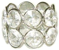 16 Crystal Napkin Rings