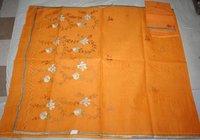 Kota Embroider Saree With Blouse