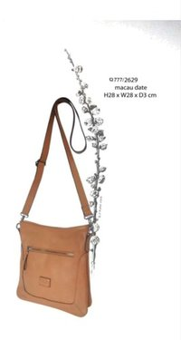 Leather Ladies Bag (Macau Date)