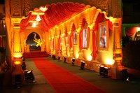 Wedding Fiber Entrance