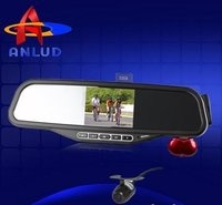 Bluetooth Mirror With 3.5' Wireless Reverse Parking System