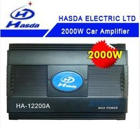 Car Audio Amplifier/Louder-Speaker of 2000W