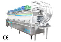 Ice Cream Crates Cleaning Machine