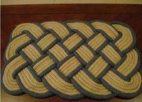 Braided Rope Hand Woven Mat