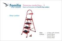 4 Step Steel Ladders