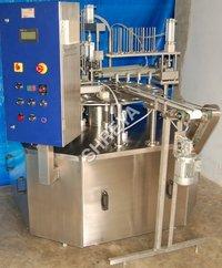 Ice Cream Cup Fill Machine