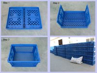 Plastic Folding Basket Container