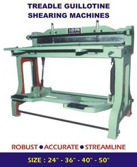 Foot Operated Shearing Machines